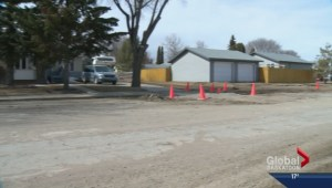 Spring weather uncovering construction issues in Saskatoon neighbourhood