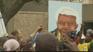 South Africa mourns and celebrates Nelson Mandela