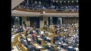 South African parliament hold special session honouring Mandela