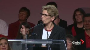Wynne takes front stage at Ontario Liberal convention