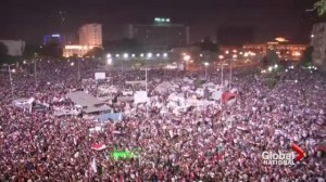 Canadians react to unrest in Egypt