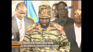 President of South Sudan imposes curfew following suspected coup