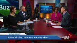Warning labels on alcohol?