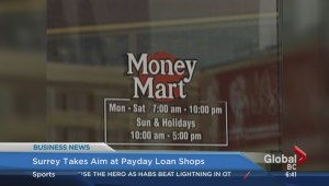 Surrey targets payday loan shops