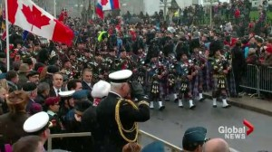 Laval students remember in Ottawa
