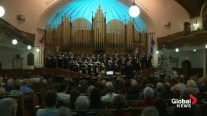 Raw video: Greenwood Singers