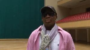 "Dennis Rodman: North Korea a ""pretty cool"" country"