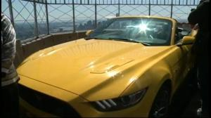 Ford recreates historic moment by assembling Mustang atop Empire State Building