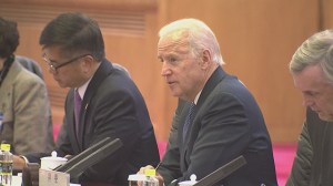 Biden meets with Chinese President