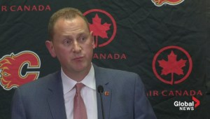 Flames announce Brad Treliving to take GM duties