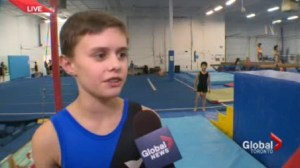 Local gymnast prepares for trip to China