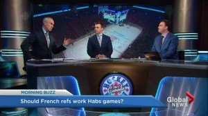 Should French refs work Habs games?