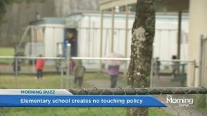 New 'no touch' policy implemented in Aldergrove school