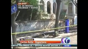 Aftermath of Magnitude-7.2 earthquake in central and southern Mexico
