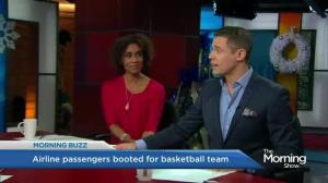 Delta airlines kicks passengers off plane to make room for basketball team