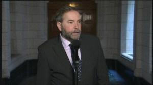 Mulcair dodges sitcky oil sands question