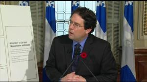 Quebec government tables controversial values charter