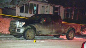 Truck shot up in Marlborough Park