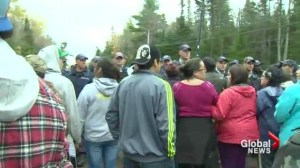 N.B. shale gas blockade