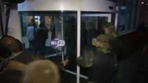 UN envoy taken to airport by pro-Russian militia