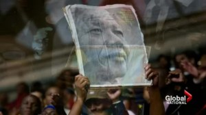 South Africa celebrates, mourns Mandela