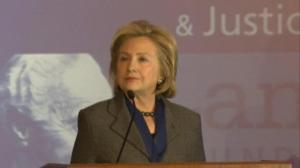 Hillary Clinton pays tribute to Nelson Mandela