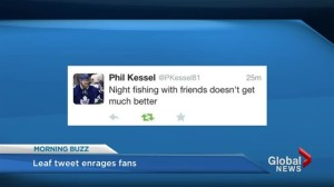 Leaf tweet enrages fans
