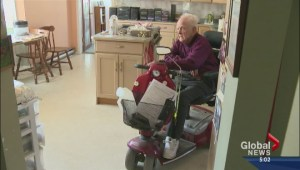 Senior loses home care