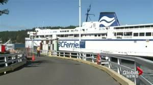 BC Ferries wages frozen