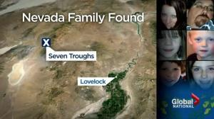 Nevada family's survives frigid conditions