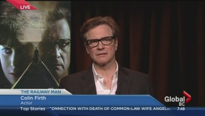 Colin Firth live
