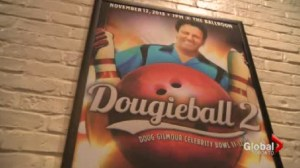 Doug Gilmour raises money and awareness for diabetes with his very own bowling tournament in Toronto