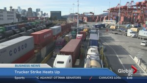 BIV: Trucker strike heats up