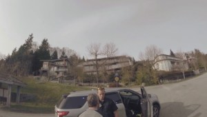 Longboarder confronted by West Van police