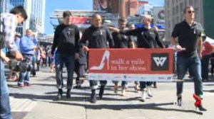 Walk A Mile event takes place at a critical time