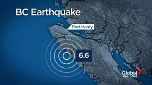 B.C. hit with magnitude-6.6 earthquake
