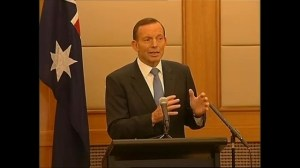 Australian PM confident signals are from missing Malaysian airliner
