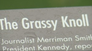 Conspiracy theorists flock to 'grassy knoll' on 50th anniversary of JFK assassination