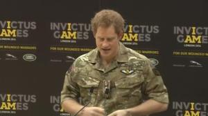 Prince Harry launches event for wounded servicemen