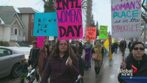 International Women's Day marked in Edmonton