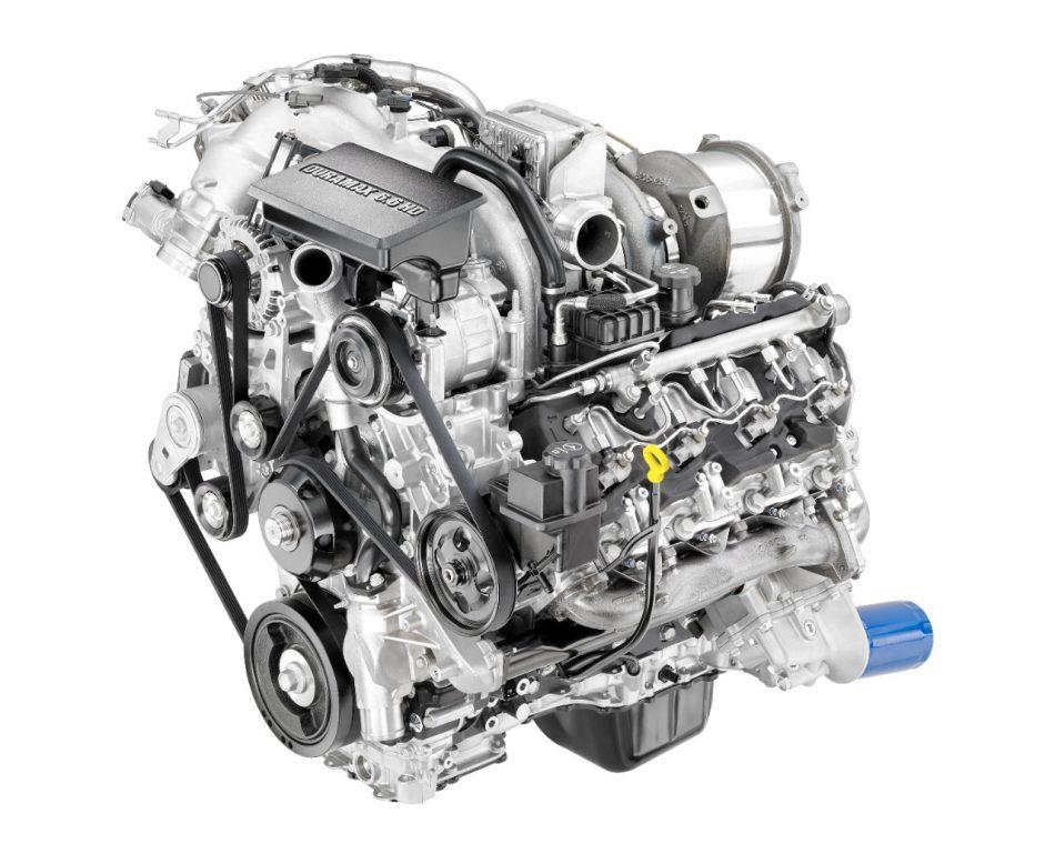 New Duramax 66L Diesel Introduced on 2017 Sierra HD