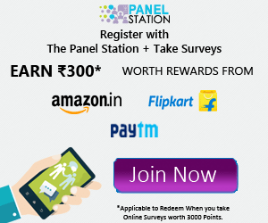 Panel station Free Paytm Cash