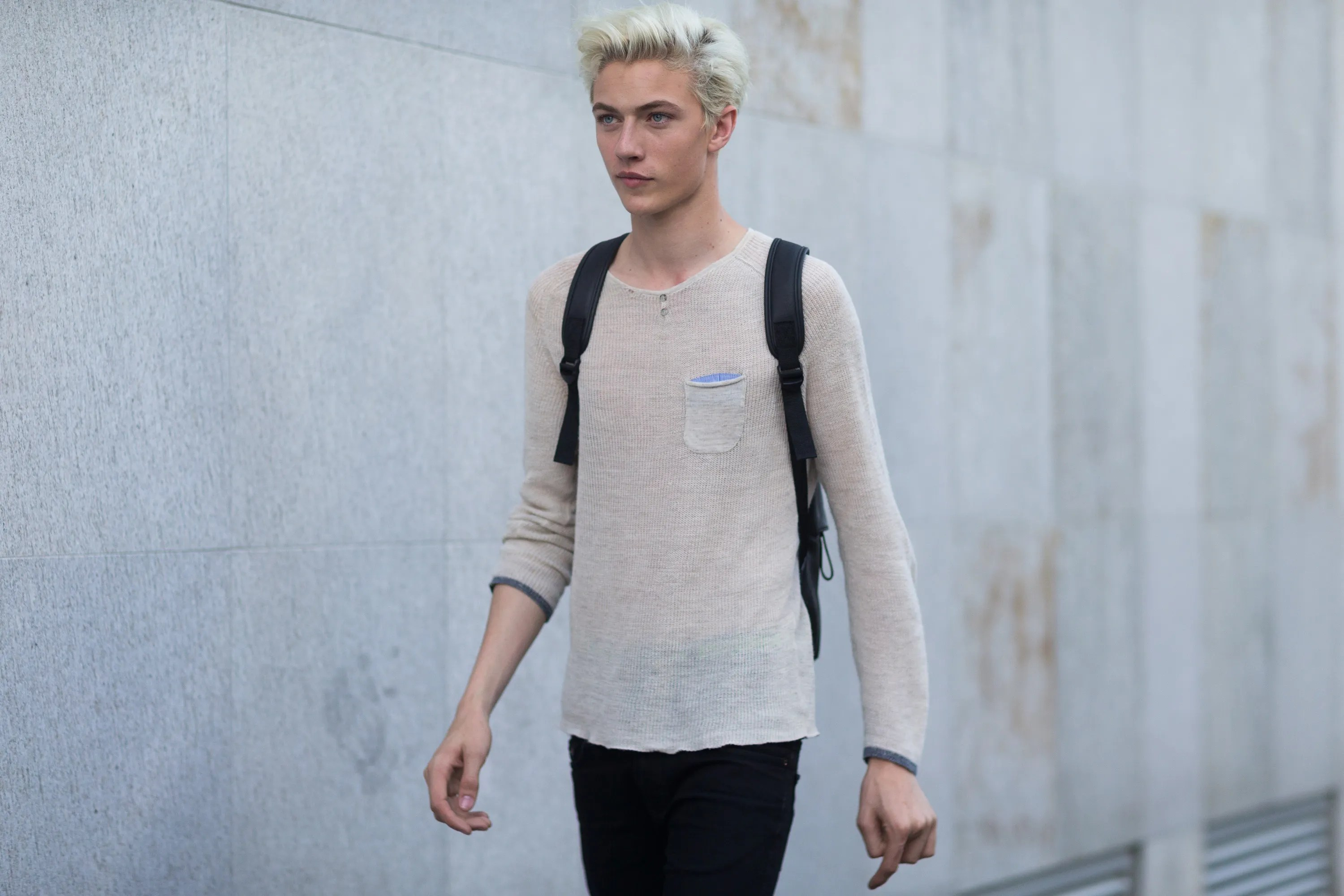 Blue Model Lucky Blue Smith Hair Blonde How To Gq