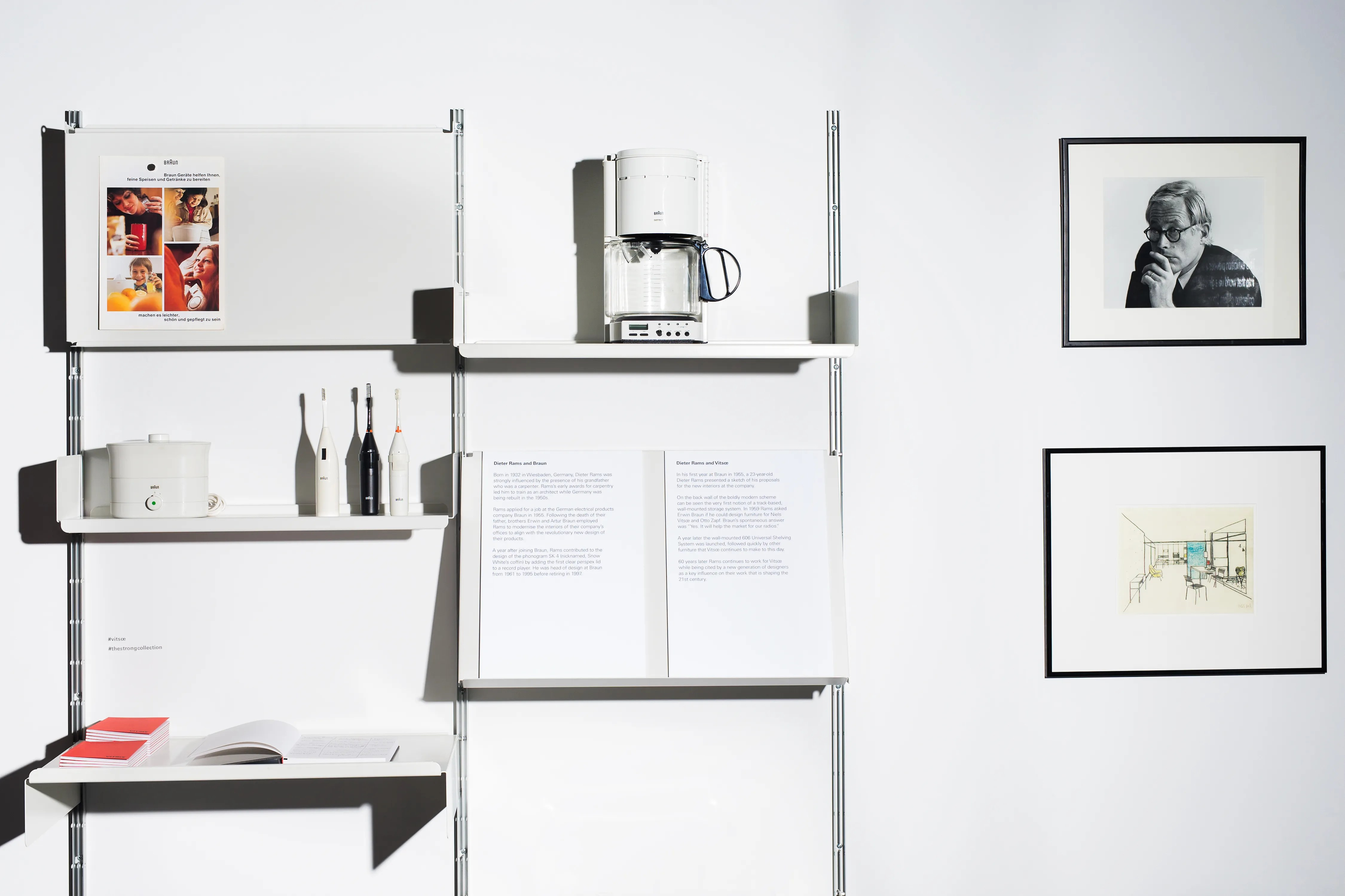 Braun Hamburg Sale The Dieter Rams Braun Collection At Vitsœ S Nyc Store Is Pure