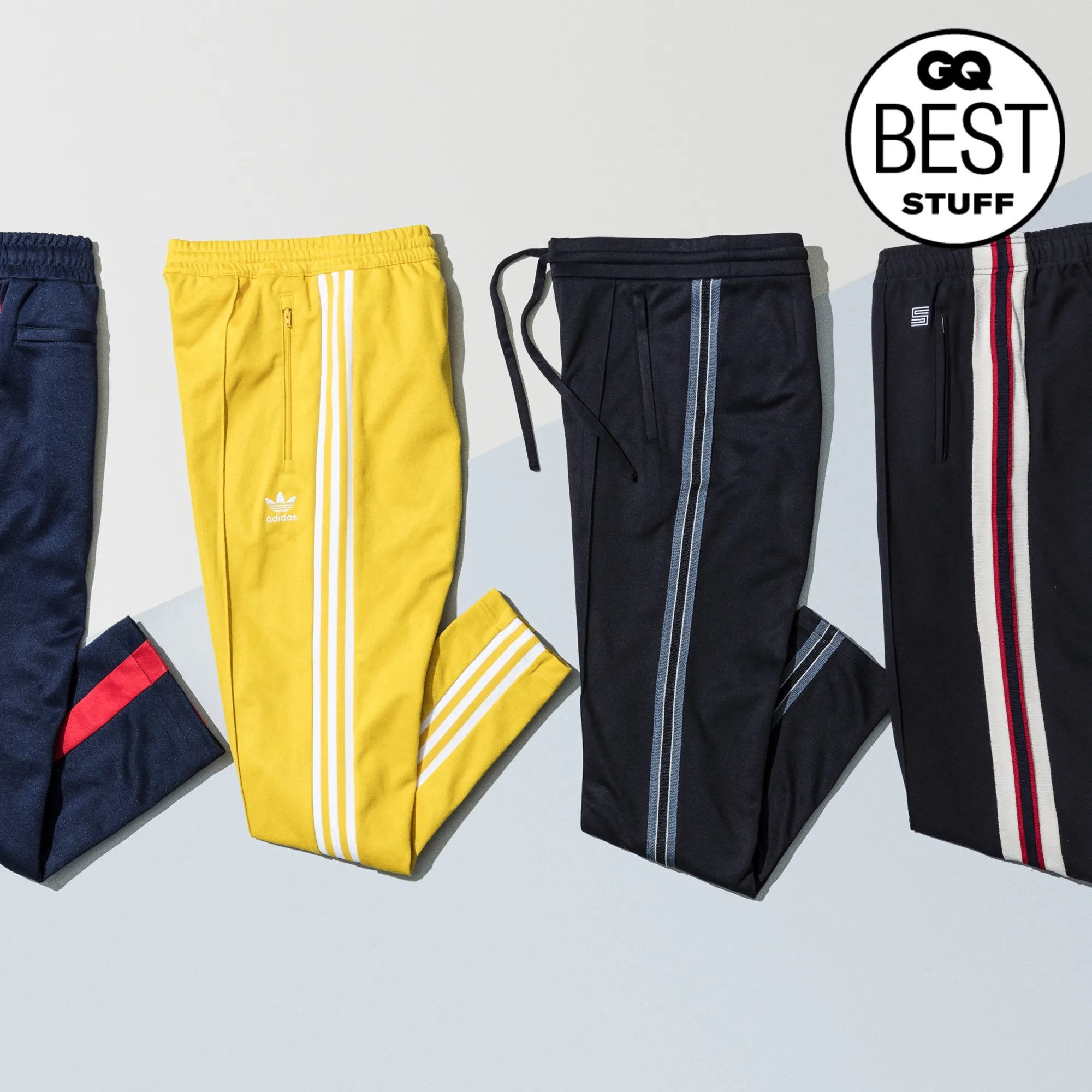 Kit Dressing Noir The Best Track Pants To Wear Right Now Gq