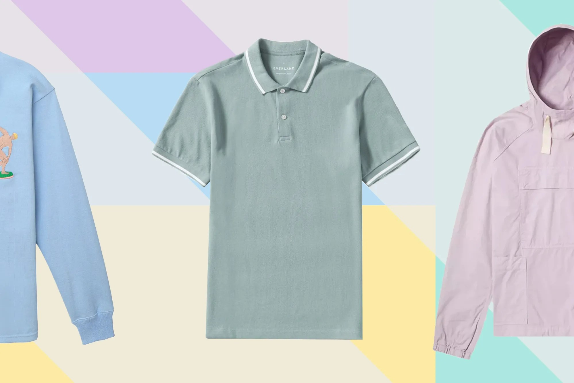 Wallpaper Pastel Polos The Best Pastel Menswear To Wear Right Now Gq