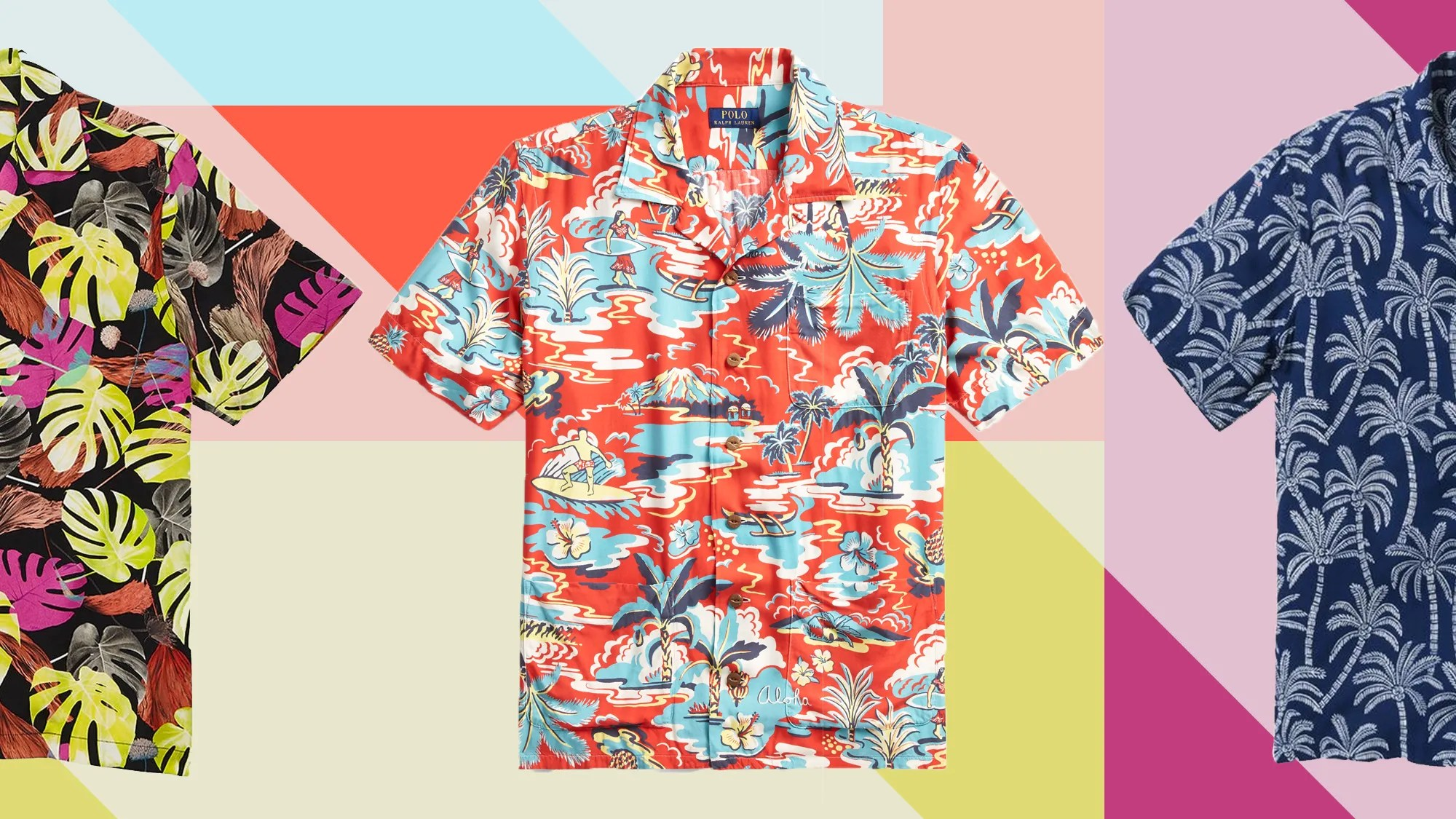 Big W School Shirts Every Hawaiian Shirt You Should Buy Now And Wear All Summer Long Gq
