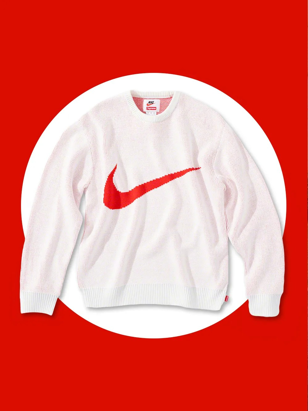 Supreme Sweater Supreme And Nike Made An All Time Sweater Gq