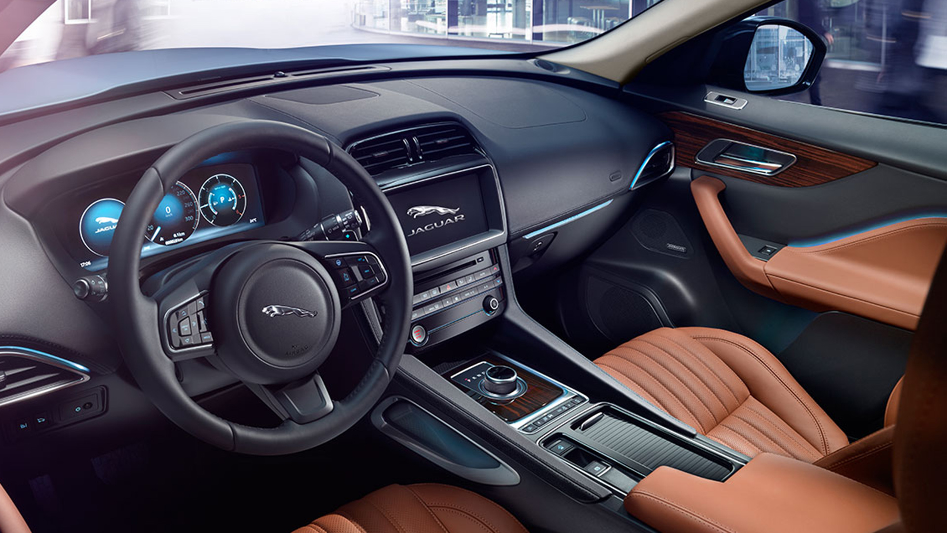 Jip Interieur The Jaguar F-pace Is A Sexy Suv Beast | Gq India | Gq