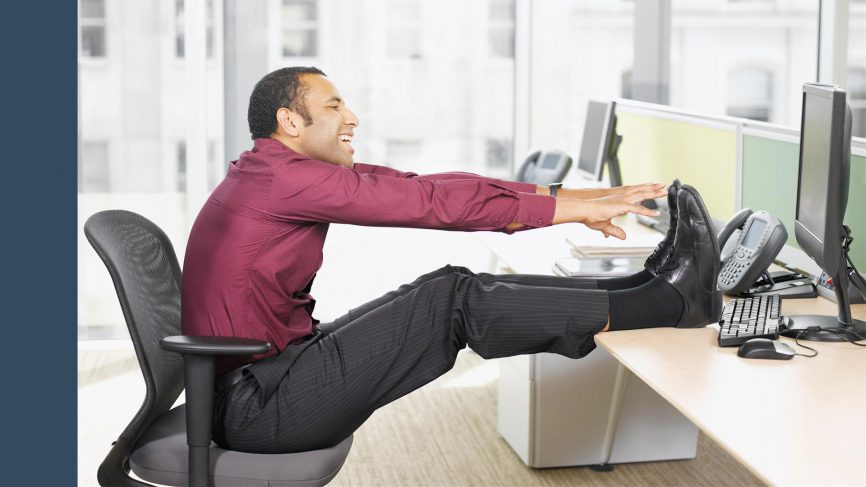How to Lose Weight in Office? Weight Loss Exercises in Office GQ India - office exercise